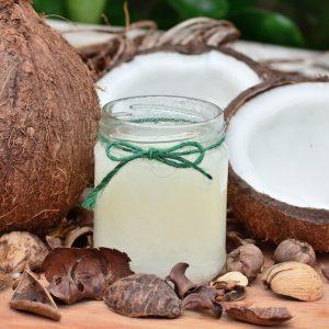 maseczka z oleju kokosowego